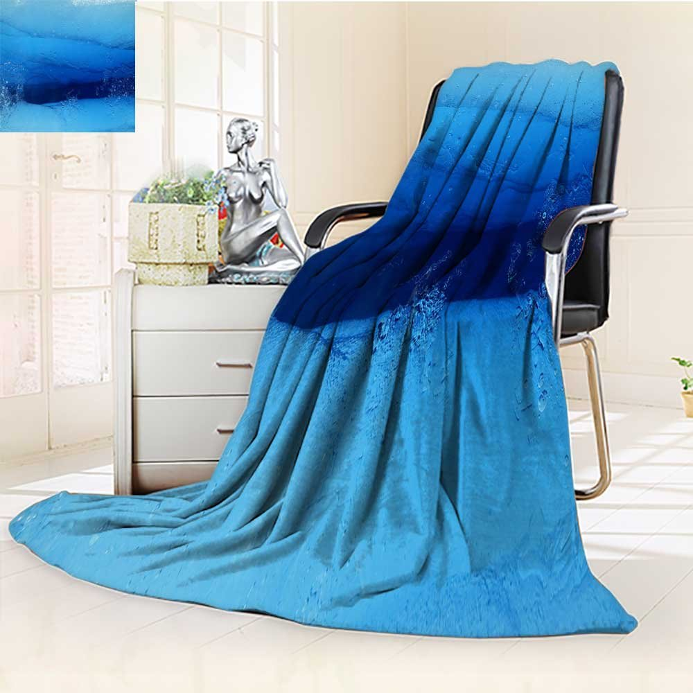 YOYI-HOME Heavy Duplex Printed Blanket The Winter Scenery Outside The Window Warm Microfiber All Season Anti-Static,2 Ply Thick,Hypoallergenic/59 W by 79'' H
