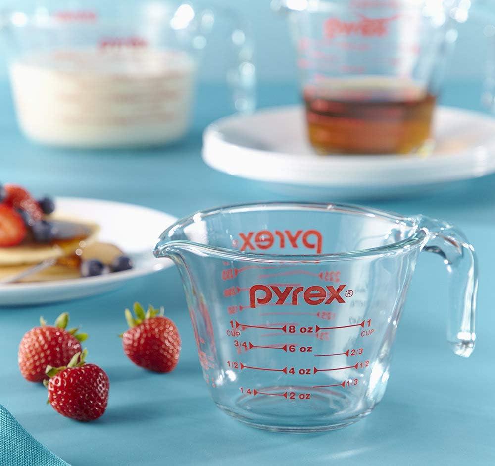 Amazon.com: Taza de medir Pyrex Prepware de 8 tazas, Empaque ...