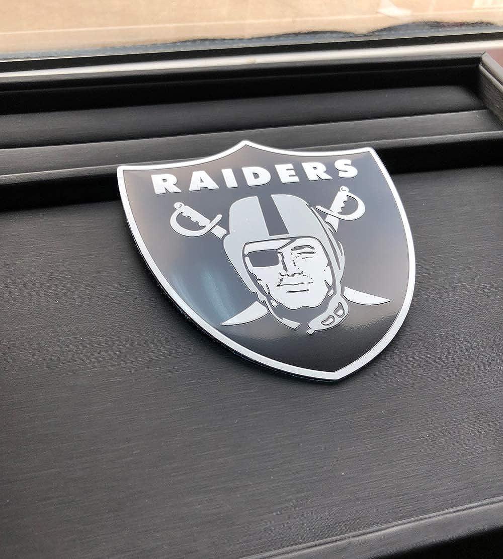 Laptop Hemlet Door,Tumblers,and Wherever You Want to Show 3pcs Football Team Logo Metal Emblem Decal,for Car Decal