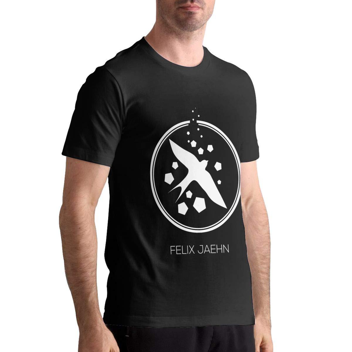 EVE KENNEDY Causal Felix Jaehn Man T-Shirts Top Tees Short Sleeve Black Shirts