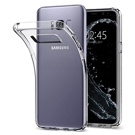 reputable site 3cfc4 e4619 Spigen Liquid Crystal Designed for Samsung Galaxy S8 Case (2017) - Crystal  Clear