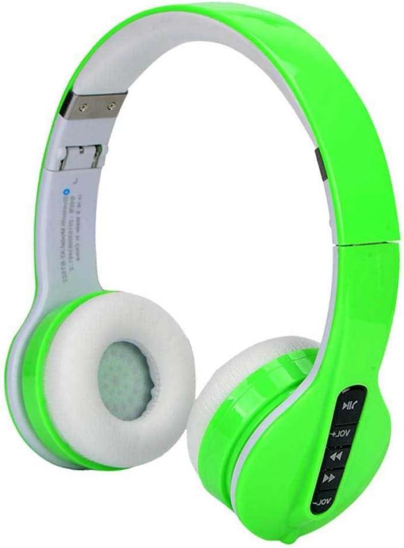 yanzi Auriculares Inalámbricos Bluetooth Auriculares Música Deportes Auriculares para Correr,Green: Amazon.es: Jardín
