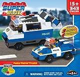 Cra Z Art Superblox Police Patrol Trucks 352 Pc N, Baby & Kids Zone