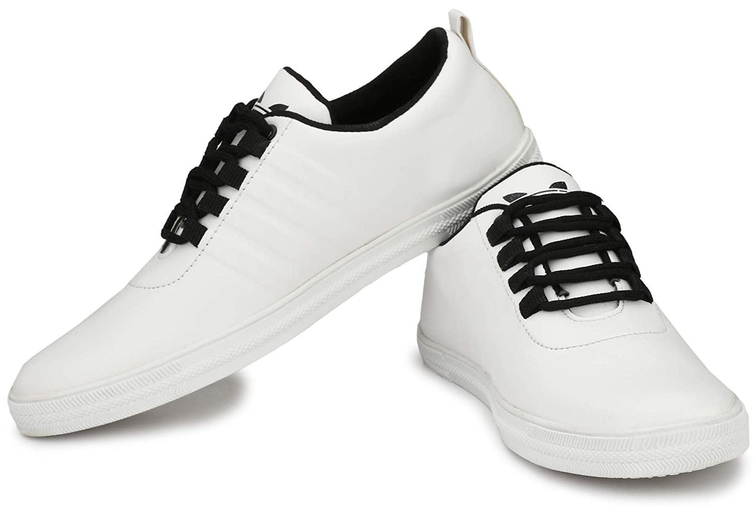 White Stylish Casual Sneakers Shoes