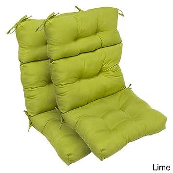 Merveilleux Outdoor High Back Chair Cushions (Set Of 2)