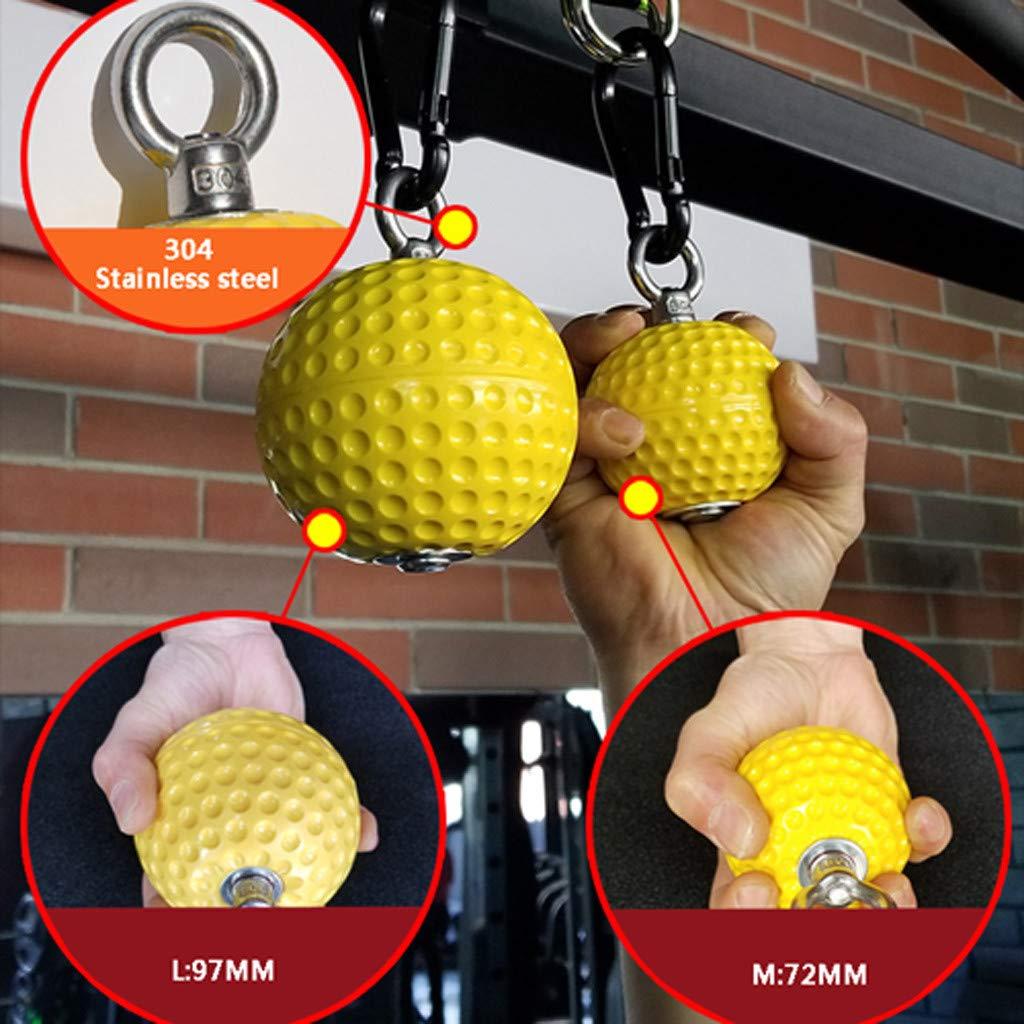 GXOK Climbing Pull Up Power Ball Hold Grips Durable Strength Trainer Exerciser