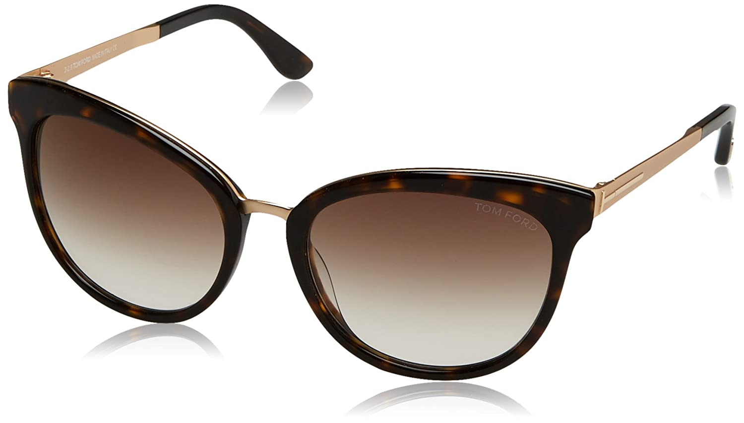 38d2500a917be Amazon.com: Tom Ford Emma 52G Tortoise/Gold Emma Cats Eyes Sunglasses Lens  Category 2 Siz: Tom Ford: Clothing