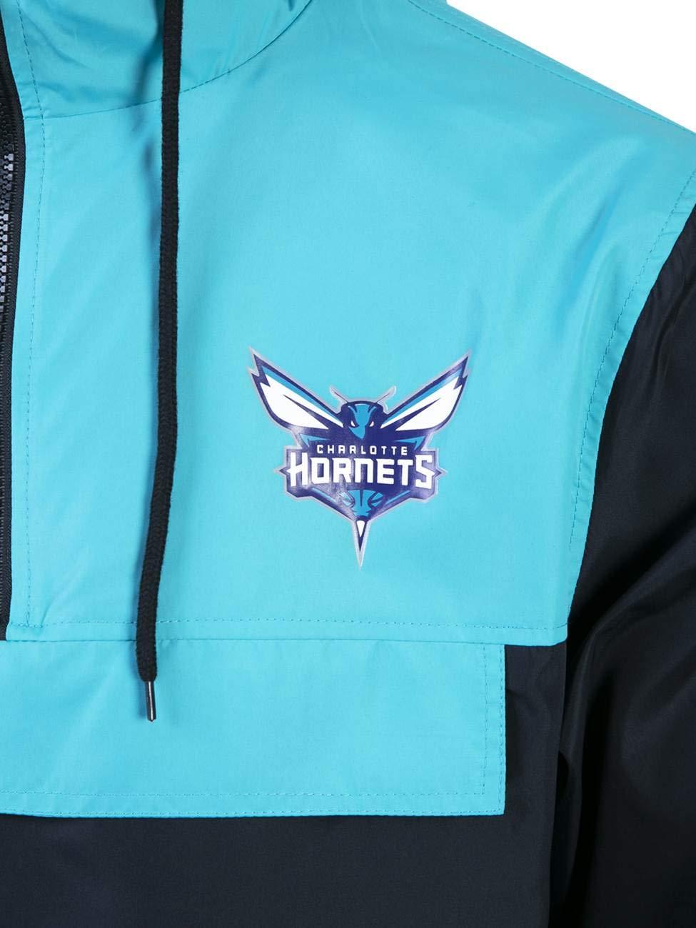 33fb743429b JAQUETA WINDBREAK CHARLOTTE HORNETS NBA NEW ERA  Amazon.com.br  Amazon Moda