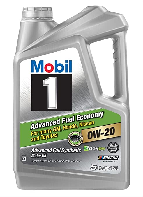 Amazon Com Mobil 1 120758 Advanced Full Synthetic Motor Oil For 0w