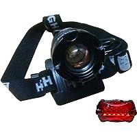 Lanterna de Cabeça e Farol para Bike B-MAX SWAT B-MAX809 com Foco Ajustável