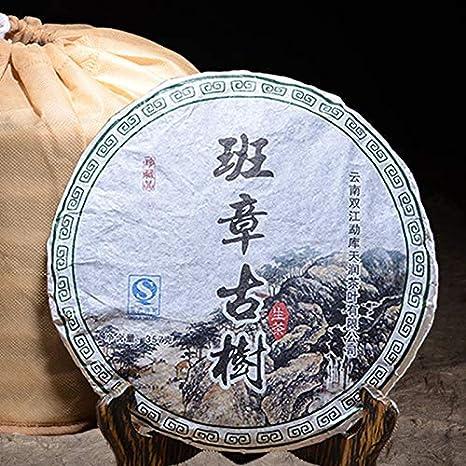 2012 Yr Raw Pu'er Tea Chinese Yunana Menghai Shen Pu'er Special Green Organic Cake Tea 357g For Lose Weight Health Pu'er Food