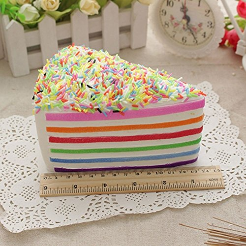 Cute Colossal Squishy Cake Scented Slow Rising Christmas Gift Destress Funny Toy