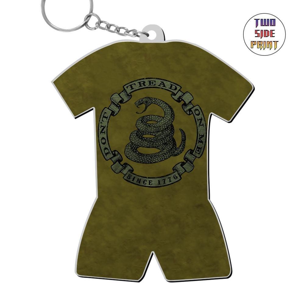 Zinc Alloy Car Key Buckle,Print Snake Sign,Gift For Boys Girls