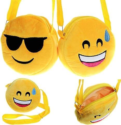 Emoji Pillow Soft Plush Emoticon Round Cushion Stuffed Toy for Kids Xmas Gift