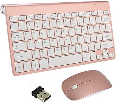 Teclado y mouse inalámbricos, Combo de mouse y teclados ...