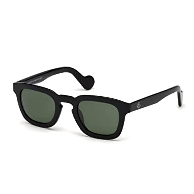 ae857909eda Image Unavailable. Image not available for. Color  Sunglasses Moncler ML  0009 01N shiny black   green