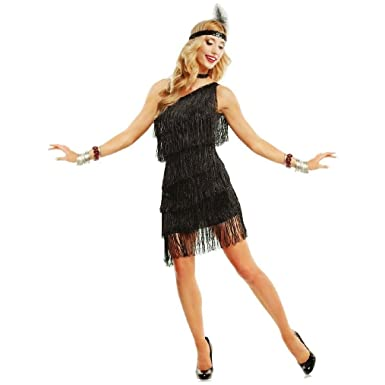 c7958473a96 Amazon.com  OvedcRay 1920S Roaring 20 S Adult Dazzling Flapper Gatsby  Costume Dress Black Red Purple  Clothing