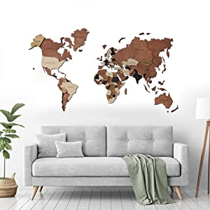 Wood World Map, Home Decor, Push Pin Map, Rustic wood world map, Travel Push Pin Map, Personalized Map, Wooden World Map, Christmas Gift Christmas Decor