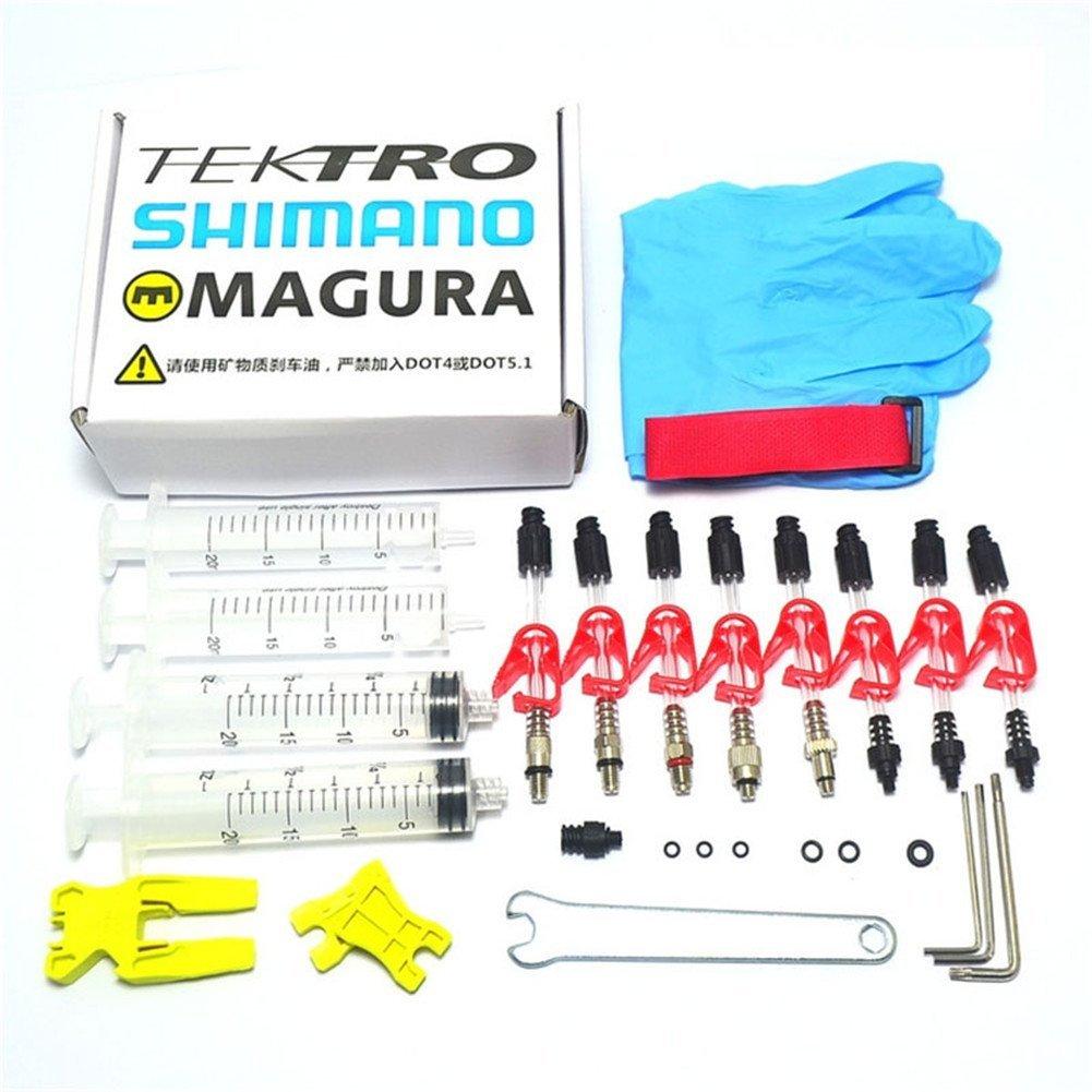 West Biking MTB Bike Cycling Hydraulic Disc Brake DOT Bleed Kit for Shimano/TEKTRO/Magura by West Biking (Image #1)