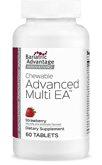 Bariatric Advantage - Advanced Multi EA Chewable - Strawberry, 60 Tablets