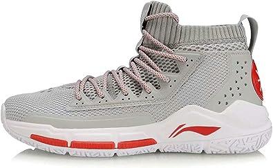 LI-NING Fission Series Wade ABAN011 ABAN029 ABAP027 - Zapatillas de Baloncesto para Hombre (absorción de Impactos), (Fission V Grey White), 41 EU: Amazon.es: Zapatos y complementos