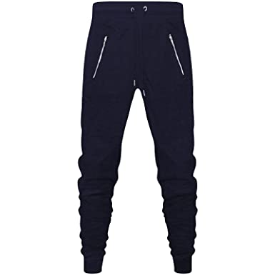 f77ff9d8b1 Divided New Mens Skinny Slim Fit Joggers Jogging Bottom Fleece Gym ...