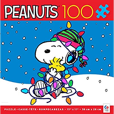 Ceaco 1661-8 Holiday Snoopy Puzzle: Toys & Games