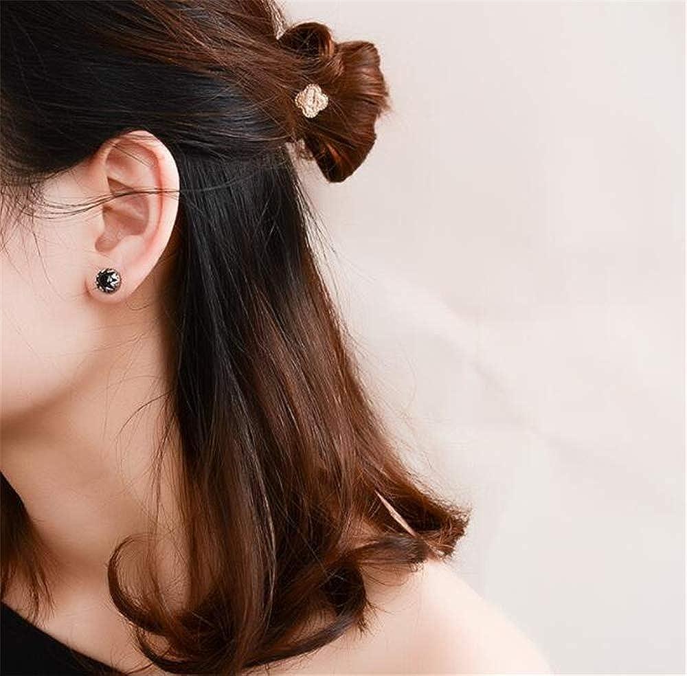 Jewelry Silver Tone Titanium steel Vintage Stud Earrings for Women