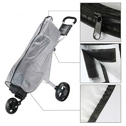 Amazon.com: Cheng Yi Golf Bag Rain Cover,Waterproof PVC Rain ...