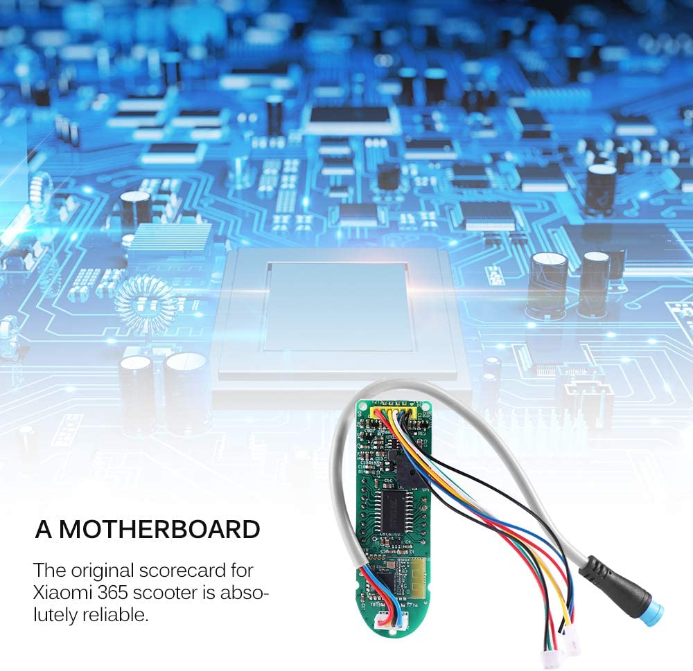 Bluetooth Board+Screen Cover OurLeeme Scooter Circuit Board with Digital Display Panel Scooter Dashboard for Xiaomi Mijia M365// M365 Pro Scooter Parts Electric Scooter Replacement