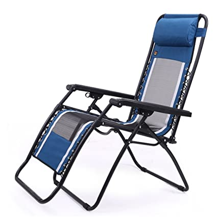 Amazon.com: Sillas de playa plegable reclinable sillas de ...