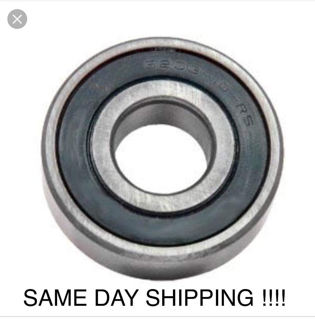 "6203-10-2RS 5//8/"" EMQ C3 Premium Sealed Ball Bearing 5//8/""x40x12  230-011 Qty 2"