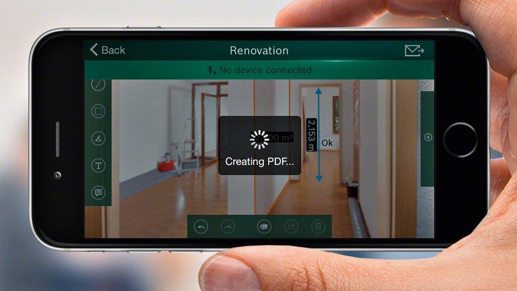 Bosch Laser Entfernungsmesser Mit App : Bosch laser entfernungsmesser plr c app funktion aaa
