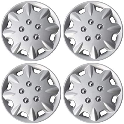 Hubcaps 14 inch Wheel Covers - (Set of 4) Hub Caps for 14in Wheels