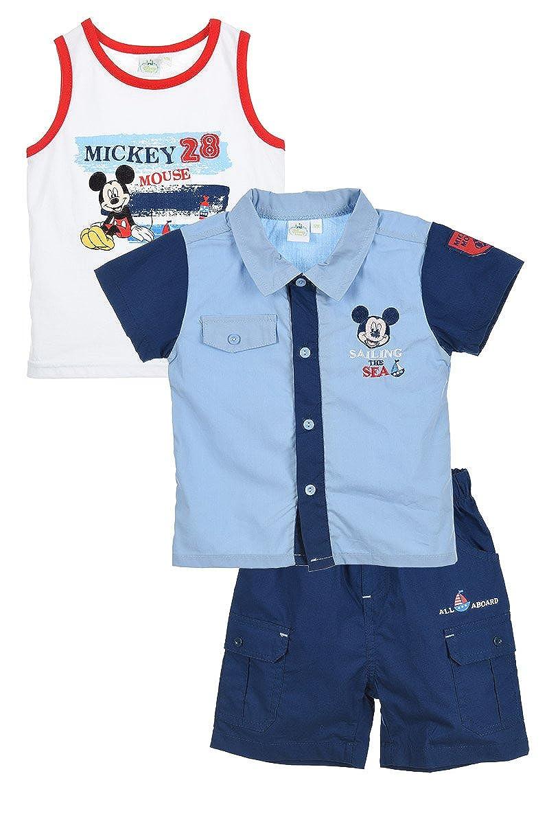 Completino sportivo Mickey Mouse Beb/è maschietto
