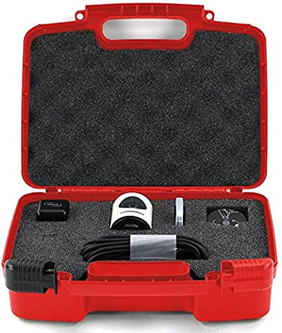 Hard Storage Carrying Case For Livestream Mevo Camera Live Event Fits Tripod, Mevo Boost, Battery Charger, USB Cable, Mount and Accessories- (Jvc Everio Sd Card)