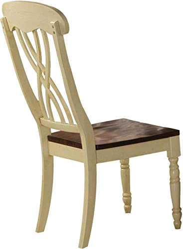 ACME Furniture 70333 Dylan Buttermilk Side Chair Set of 2