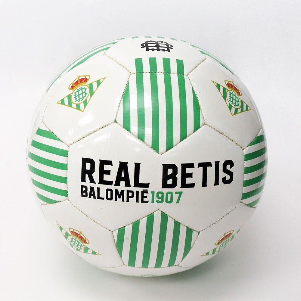 Balón Oficial Real Betis BALÓN REAL BETIS TRECEBARRAS: Amazon.es ...