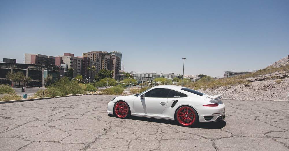 Agencia De ap-991 - 605 espejo funda (Fibra de Carbono Porsche 991 Turbo | Carrera | GT3 modelos 12 - 15): Amazon.es: Coche y moto