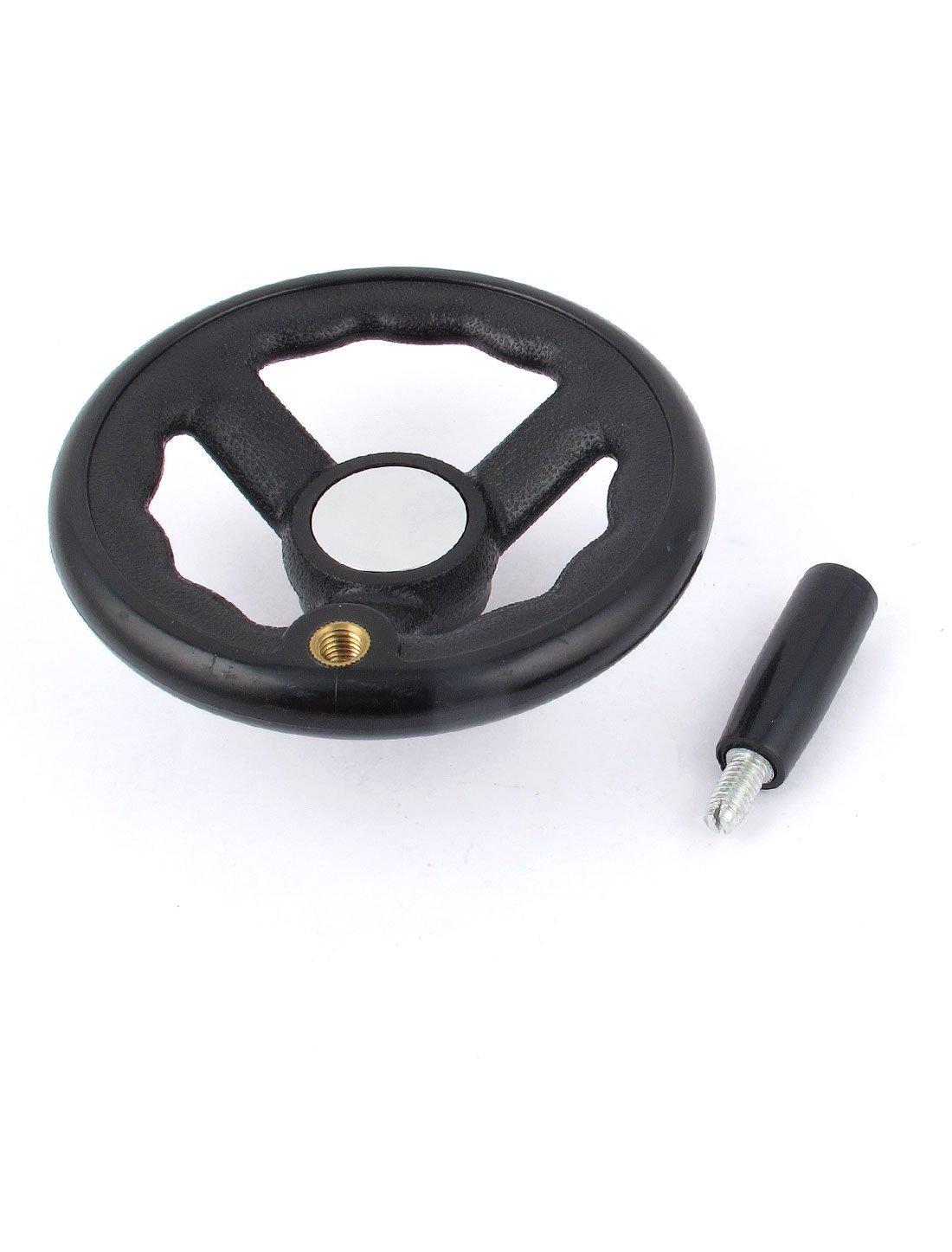 125mmx12mm de radios del Volante w antideslizante de agarre Para molinillo de UNA máquina Torno: Amazon.com: Industrial & Scientific