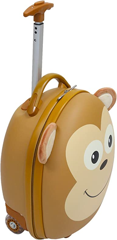 Amazon.com: Emmzoe Kids & Toddler - Maleta con ruedas para ...