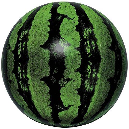 Igarashi Real Watermelon Balloon Inflatable Beach Ball 40CM (Watermelon Inflate)