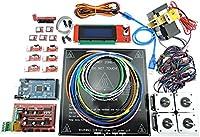 [Sintron] 3D Printer Electronics Full Kit, RAMPS 1.4 + Mega 2560 + MK3 Heatbed Heat bed + LCD2004 + Stepper Motor + MK8 Extruder + A4988 Stepper Motor Driver + Endstop for DIY RepRap Prusa i3 Kossel by Sintron