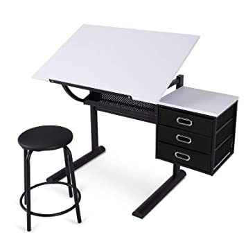 Trendy home office Small Image Unavailable Billielourdorg Amazoncom Mandycng Trendy Home Office Drawing And Drafting Steel