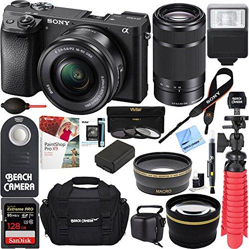 Sony ILCE-6300 a6300 4K Mirrorless...