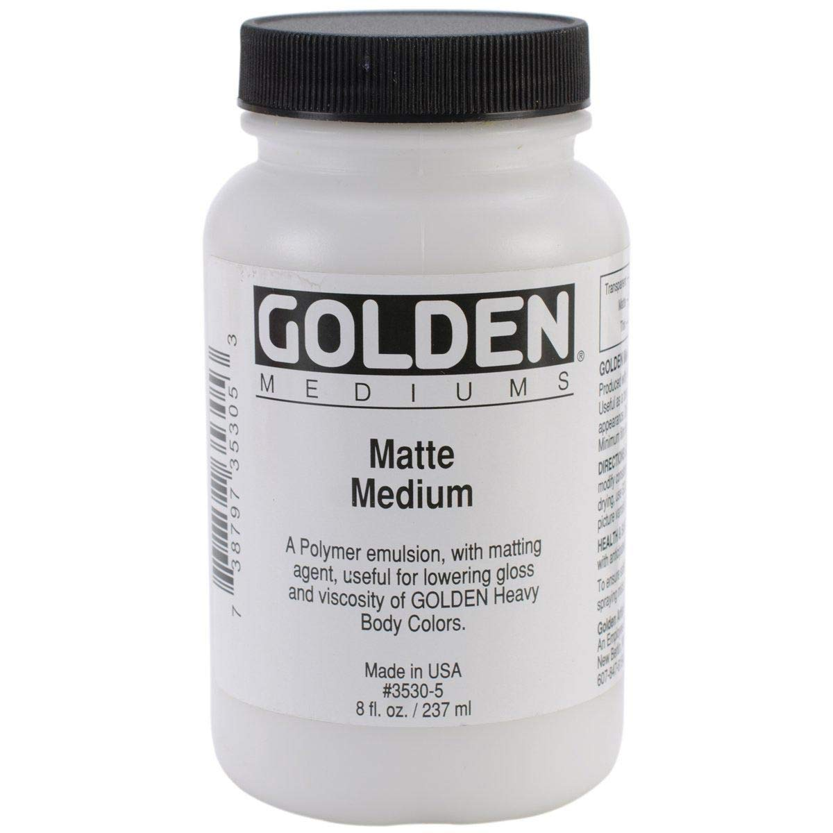 Golden Acryl Med 32 Oz Matte Medium by Golden