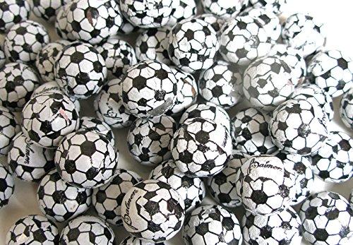 Chocolate Soccer Balls Made In The USA Bulk Candy Chocolate (2 Pounds) (Soccer Chocolate)