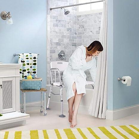 Amazon.com: Banco de baño, gentleshower 10 Altura asiento ...