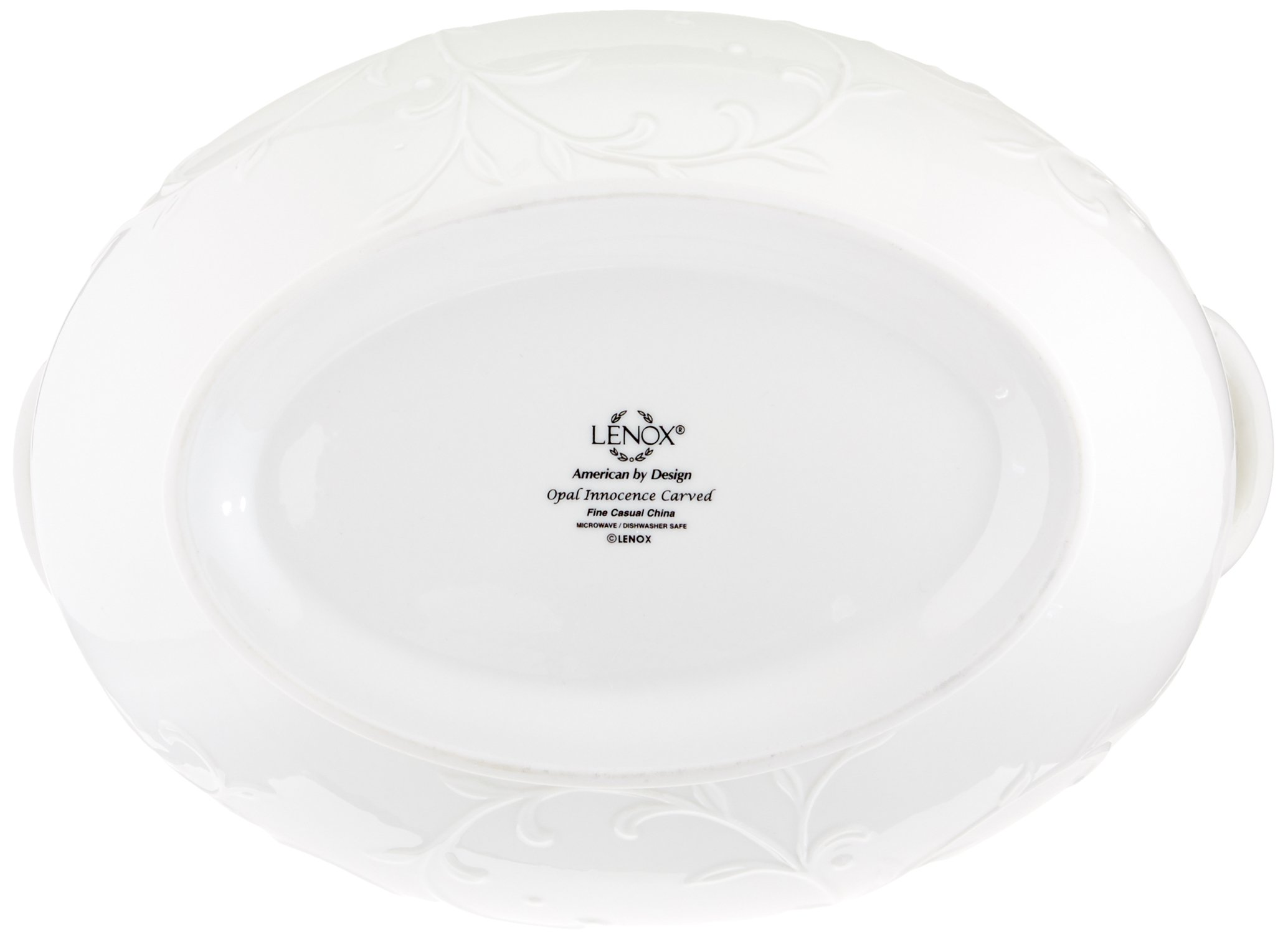 Lenox Opal Innocence Carved Covered Soup Tureen with Ladle, 10-1/4-Inch by Lenox (Image #4)