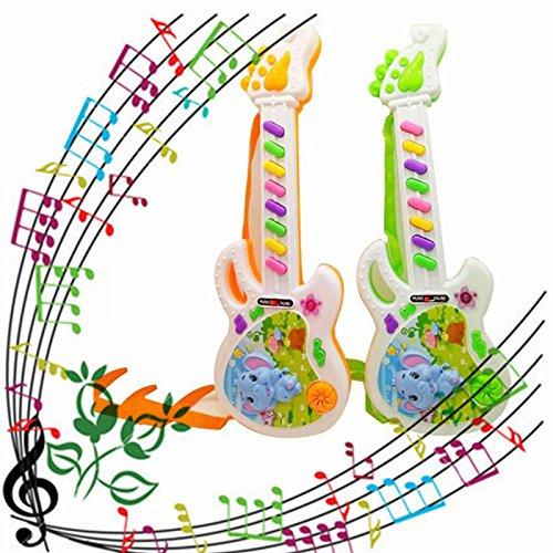 Kentop 1pcs Teclado Electrónico Infantil en Forma de Guitarra ...